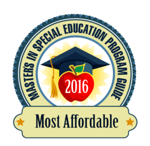 Masters Special Education Programs - Most Affordable 2016